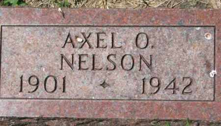 NELSON, AXEL O. - Dakota County, Nebraska | AXEL O. NELSON - Nebraska Gravestone Photos