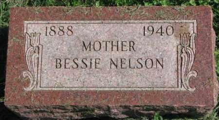 NELSON, BESSIE - Dakota County, Nebraska | BESSIE NELSON - Nebraska Gravestone Photos