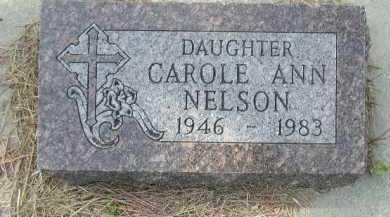 NELSON, CAROLE ANN - Dakota County, Nebraska | CAROLE ANN NELSON - Nebraska Gravestone Photos