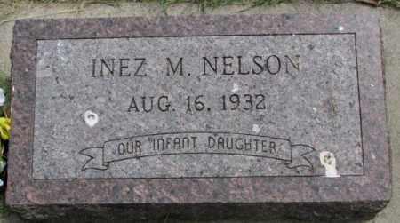 NELSON, INEZ M. - Dakota County, Nebraska | INEZ M. NELSON - Nebraska Gravestone Photos