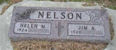 NELSON, HELEN M. - Dakota County, Nebraska   HELEN M. NELSON - Nebraska Gravestone Photos