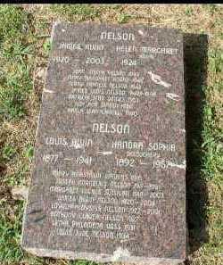 NELSON, ANTHONY CLAVER - Dakota County, Nebraska | ANTHONY CLAVER NELSON - Nebraska Gravestone Photos