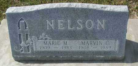 NELSON, MARVIN C. - Dakota County, Nebraska | MARVIN C. NELSON - Nebraska Gravestone Photos