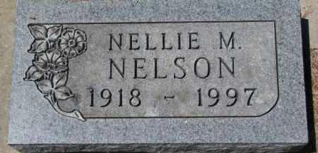 NELSON, NELLIE M. - Dakota County, Nebraska | NELLIE M. NELSON - Nebraska Gravestone Photos