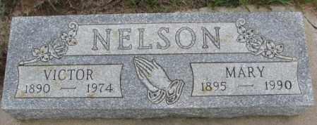 NELSON, VICTOR - Dakota County, Nebraska | VICTOR NELSON - Nebraska Gravestone Photos