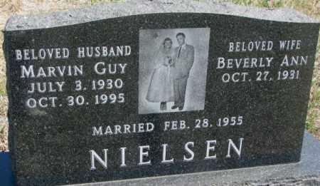 NIELSEN, BEVERLY ANN - Dakota County, Nebraska   BEVERLY ANN NIELSEN - Nebraska Gravestone Photos