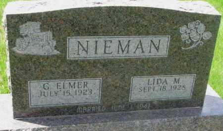 NIEMAN, LIDA M. - Dakota County, Nebraska | LIDA M. NIEMAN - Nebraska Gravestone Photos