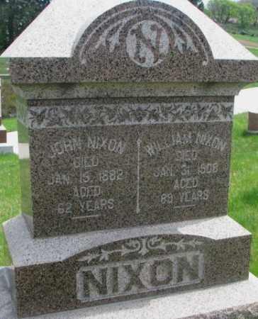 NIXON, JOHN - Dakota County, Nebraska | JOHN NIXON - Nebraska Gravestone Photos