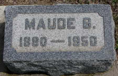 NORRIS, MAUDE B. - Dakota County, Nebraska | MAUDE B. NORRIS - Nebraska Gravestone Photos