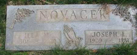 NOVACEK, JOSEPH L. - Dakota County, Nebraska | JOSEPH L. NOVACEK - Nebraska Gravestone Photos