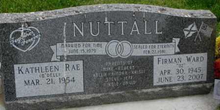 NUTTALL, KATHLEEN RAE - Dakota County, Nebraska   KATHLEEN RAE NUTTALL - Nebraska Gravestone Photos