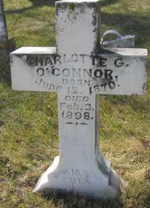 O'CONNOR, CHARLOTTE G. - Dakota County, Nebraska | CHARLOTTE G. O'CONNOR - Nebraska Gravestone Photos