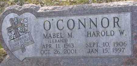 O'CONNOR, HAROLD W. - Dakota County, Nebraska | HAROLD W. O'CONNOR - Nebraska Gravestone Photos