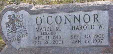 O'CONNOR, MABEL M. - Dakota County, Nebraska | MABEL M. O'CONNOR - Nebraska Gravestone Photos