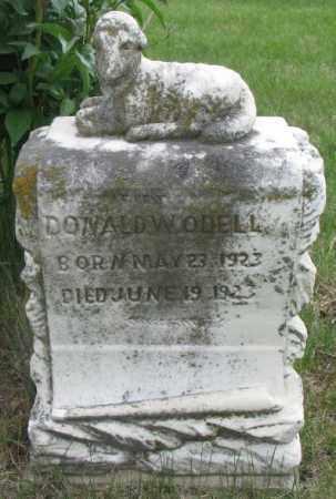 O'DELL, DONALD W. - Dakota County, Nebraska | DONALD W. O'DELL - Nebraska Gravestone Photos