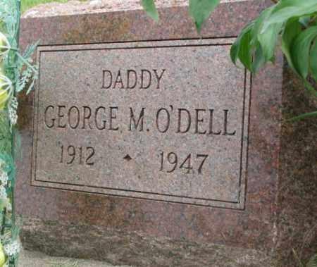 O'DELL, GEORGE M. - Dakota County, Nebraska | GEORGE M. O'DELL - Nebraska Gravestone Photos