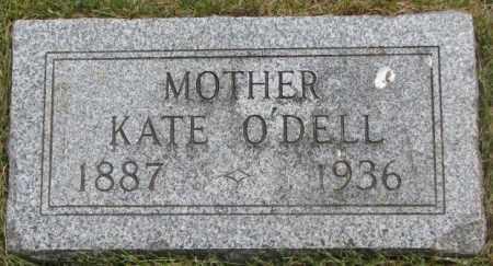 O'DELL, KATE - Dakota County, Nebraska | KATE O'DELL - Nebraska Gravestone Photos