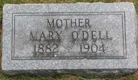 O'DELL, MARY - Dakota County, Nebraska   MARY O'DELL - Nebraska Gravestone Photos