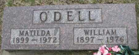 O'DELL, MATILDA - Dakota County, Nebraska | MATILDA O'DELL - Nebraska Gravestone Photos