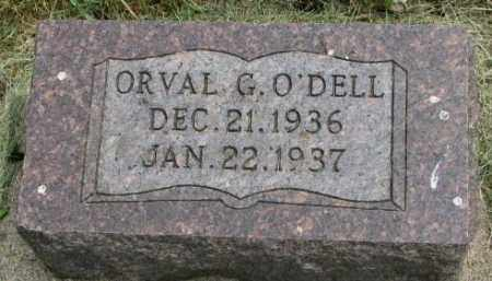 O'DELL, ORVAL G. - Dakota County, Nebraska | ORVAL G. O'DELL - Nebraska Gravestone Photos
