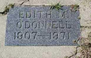 O'DONNELL, EDITH M. - Dakota County, Nebraska | EDITH M. O'DONNELL - Nebraska Gravestone Photos