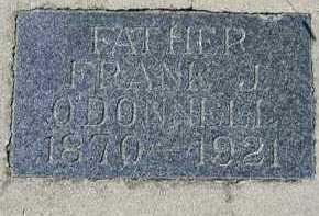 O'DONNELL, FRANK J. - Dakota County, Nebraska   FRANK J. O'DONNELL - Nebraska Gravestone Photos