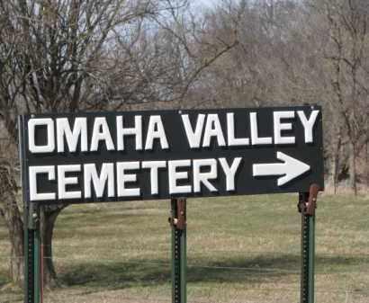 *OMAHA VALLEY, OVERVIEW - Dakota County, Nebraska   OVERVIEW *OMAHA VALLEY - Nebraska Gravestone Photos