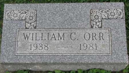 ORR, WILLIAM C. - Dakota County, Nebraska | WILLIAM C. ORR - Nebraska Gravestone Photos