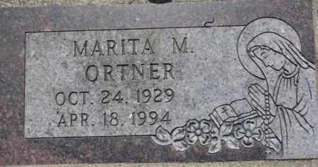 ORTNER, MARITA M. - Dakota County, Nebraska | MARITA M. ORTNER - Nebraska Gravestone Photos