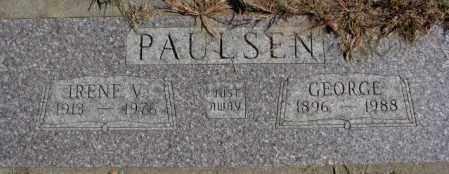 PAULSEN, GEORGE - Dakota County, Nebraska | GEORGE PAULSEN - Nebraska Gravestone Photos