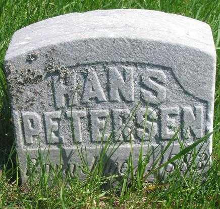 PETERSEN, HANS - Dakota County, Nebraska | HANS PETERSEN - Nebraska Gravestone Photos
