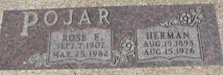 POJAR, ROSE E. - Dakota County, Nebraska | ROSE E. POJAR - Nebraska Gravestone Photos