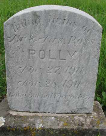POLLY, INFANT TWINS - Dakota County, Nebraska | INFANT TWINS POLLY - Nebraska Gravestone Photos