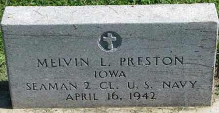 PRESTON, MELVIN L. - Dakota County, Nebraska | MELVIN L. PRESTON - Nebraska Gravestone Photos