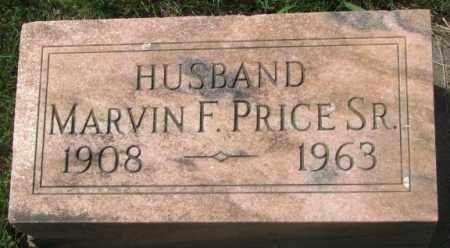 PRICE, MARVIN F. SR. - Dakota County, Nebraska | MARVIN F. SR. PRICE - Nebraska Gravestone Photos