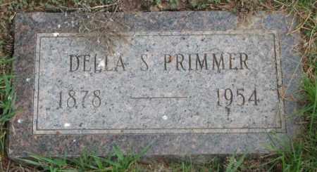 PRIMMER, DELLA S. - Dakota County, Nebraska | DELLA S. PRIMMER - Nebraska Gravestone Photos