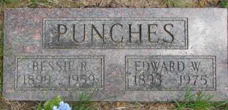 PUNCHES, EDWARD W. - Dakota County, Nebraska | EDWARD W. PUNCHES - Nebraska Gravestone Photos