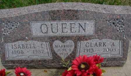 QUEEN, CLARK A. - Dakota County, Nebraska | CLARK A. QUEEN - Nebraska Gravestone Photos