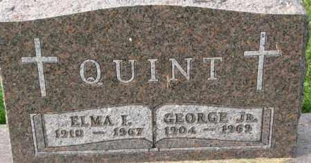 QUINT, GEORGE JR. - Dakota County, Nebraska | GEORGE JR. QUINT - Nebraska Gravestone Photos