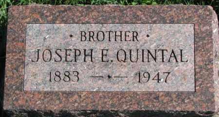 QUINTAL, JOSEPH E. - Dakota County, Nebraska | JOSEPH E. QUINTAL - Nebraska Gravestone Photos