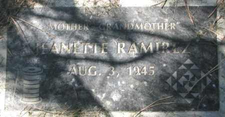 RAMIREZ, JEANETTE - Dakota County, Nebraska | JEANETTE RAMIREZ - Nebraska Gravestone Photos