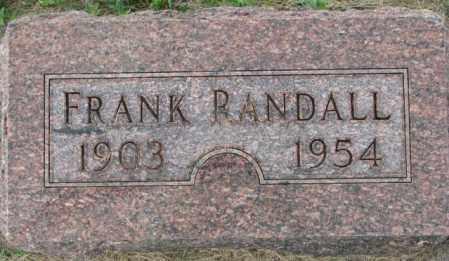 RANDALL, FRANK - Dakota County, Nebraska | FRANK RANDALL - Nebraska Gravestone Photos
