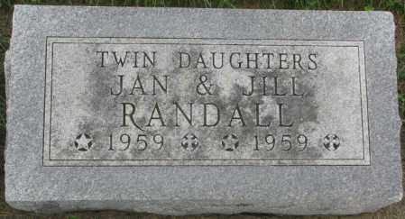 RANDALL, JILL - Dakota County, Nebraska | JILL RANDALL - Nebraska Gravestone Photos