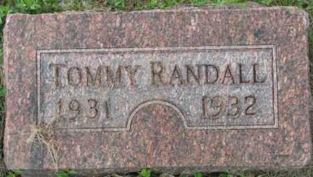 RANDALL, TOMMY - Dakota County, Nebraska | TOMMY RANDALL - Nebraska Gravestone Photos