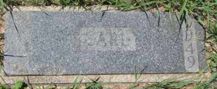 RASMUSSEN, KARL - Dakota County, Nebraska | KARL RASMUSSEN - Nebraska Gravestone Photos