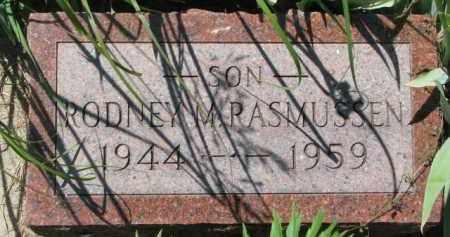 RASMUSSEN, RODNEY M. - Dakota County, Nebraska | RODNEY M. RASMUSSEN - Nebraska Gravestone Photos