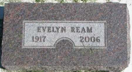 REAM, EVELYN - Dakota County, Nebraska | EVELYN REAM - Nebraska Gravestone Photos