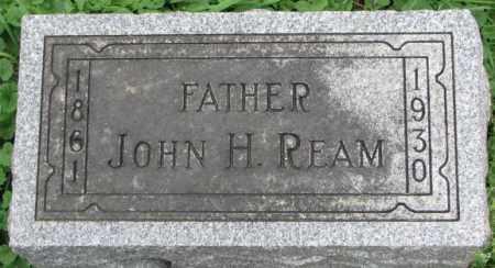 REAM, JOHN H. - Dakota County, Nebraska | JOHN H. REAM - Nebraska Gravestone Photos