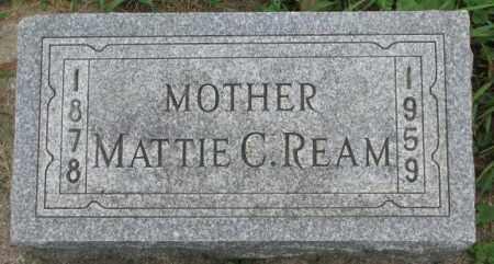 REAM, MATTIE C. - Dakota County, Nebraska | MATTIE C. REAM - Nebraska Gravestone Photos