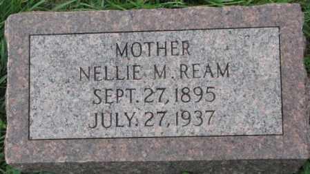 REAM, NELLIE M. - Dakota County, Nebraska | NELLIE M. REAM - Nebraska Gravestone Photos